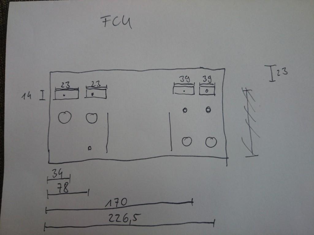 Erste Planung der FCU